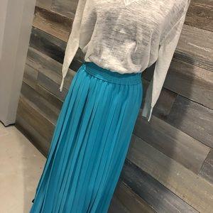 Evan Piccone vintage lined pleated skirt sz l NWT